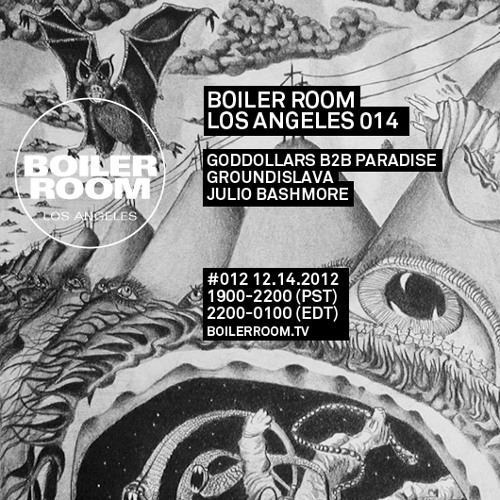 Julio Bashmore Boiler Room Los Angeles Mix