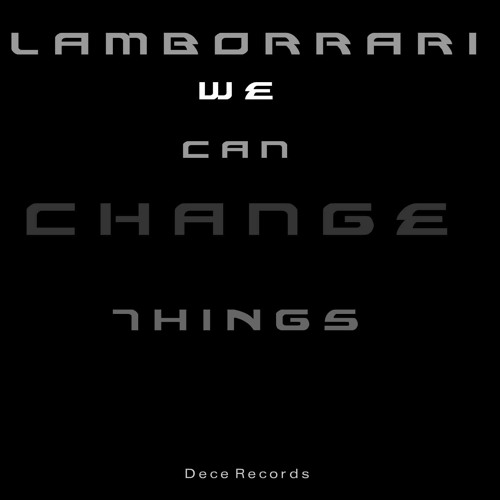 We Can Change Things - Lead Mix
