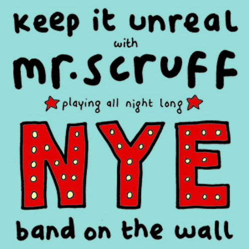 Mr Scruff NYE DJ Mix from Band on the Wall, Manchester, Monday 31 december 2012