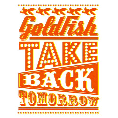 Goldfish - Take back tomorrow