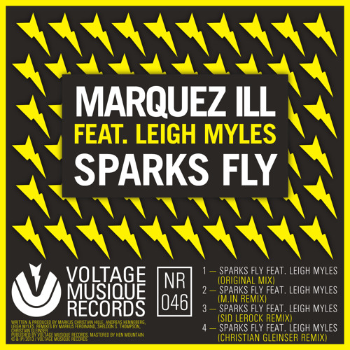 Marquez Ill - Sparks Fly feat. Leigh Myles (Original Mix)