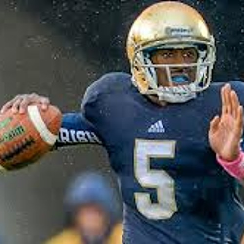 Notre Dame QB Everett Golson from The BCS Championship Media Day on College Sports Nation (1-5-13)