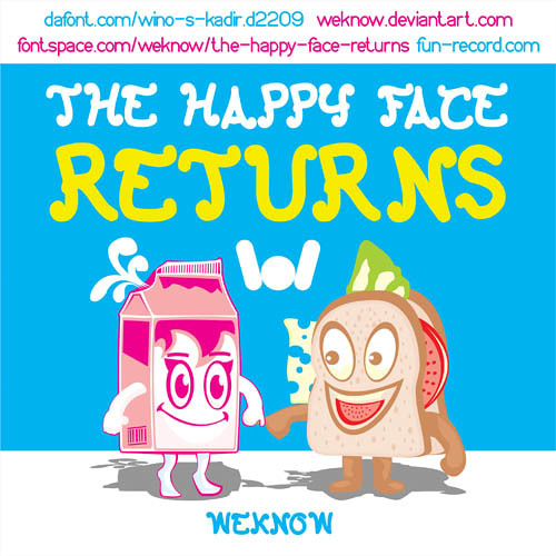 The happy face returns-weknow