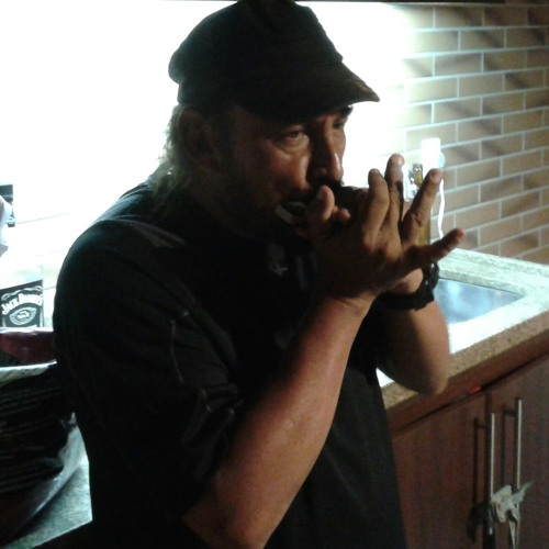 Batera da Black Soul Blues Tocando Harmonica - Easy