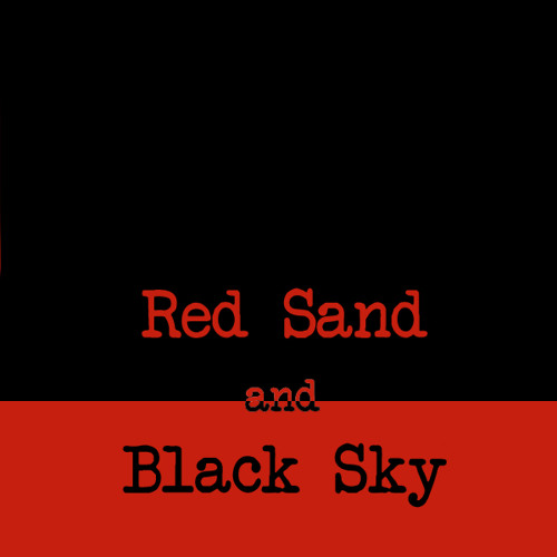 Red Sand and Black Sky