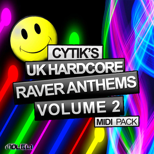 Cytik's UK Hardcore Raver Anthems Vol 2  MIDI PACK - OUT NOW! £10