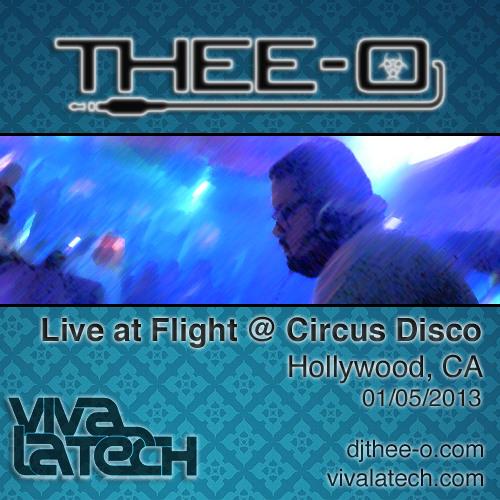 Thee-O - Live at Flight @ Circus Disco (01/05/13)