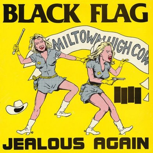 Black Flag - Jealous Again (cover)
