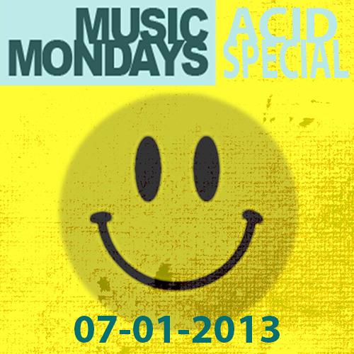 Billy Daniel Bunter & Slipmatt - Music Monday Acid Special 07-01-2013