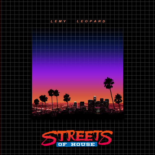 Lemy Leopard - Streets Of House (Sample Of 4 Tracks From QMT052)