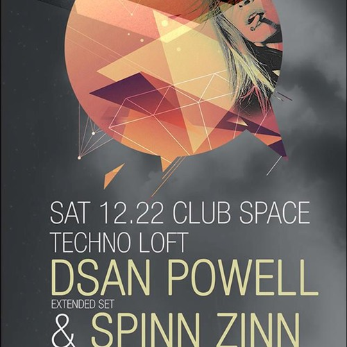 SpinnZinn @ The Techno Loft - Space Miami Dec. 22 2012
