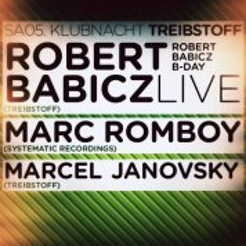 (free DL) Robert Babicz - My 40th BirthdayLiveSet from 5.1.2013