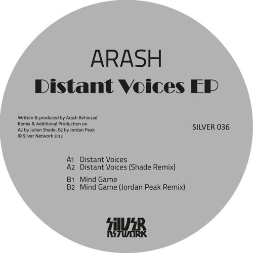 """Arash - Distant Voices EP [Silver Network] - 12"""" / Digital"""