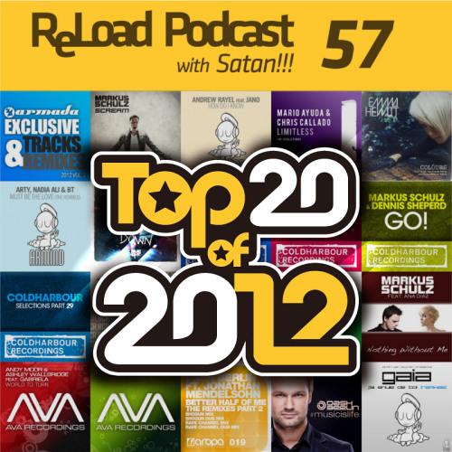 :: Satan!!! - ReLoad Podcast 057 : Top 20 of 2012