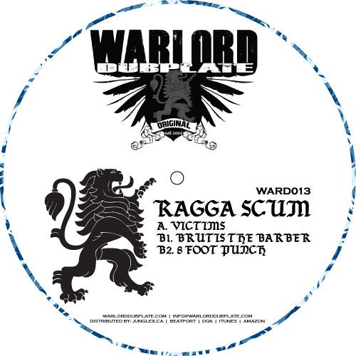 Ragga Scum - Brutis The Barber (clip) - Warlord 13