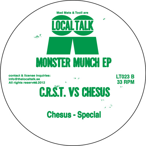 Chesus - Special (LT023, Side B2)