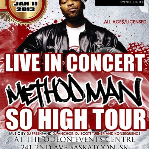 Method Man in Saskatoon Friday January 11th/2013 - Radio Commercial