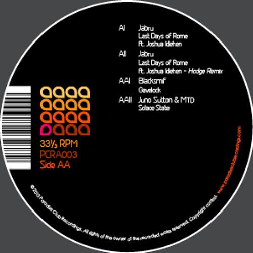 PCRA003-AA2 - Juno Sutton & MTD 'Solace State' (Clip)