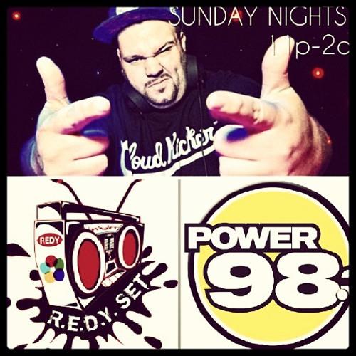 REDY SET RADIO POWER 98.3 Live w/ DJ BIGIE MEANMUGG Jan 6th 2013