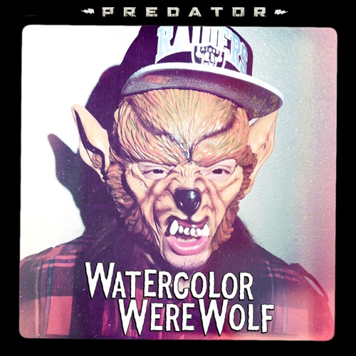 Watercolor Werewolf - Predator