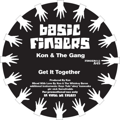 """KON & THE GANG """"GET IT TOGETHER"""""""