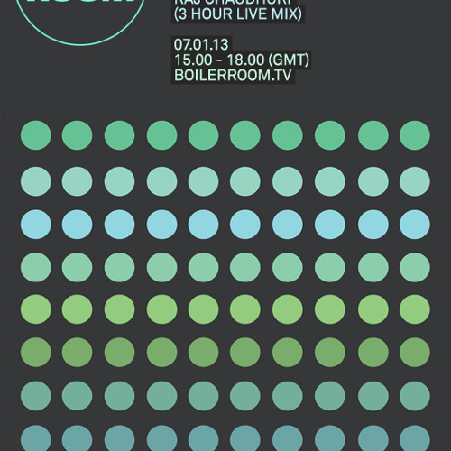 Boiler Room x Bleep 100 Tracks 2012 mixed by Raj Chaudhuri