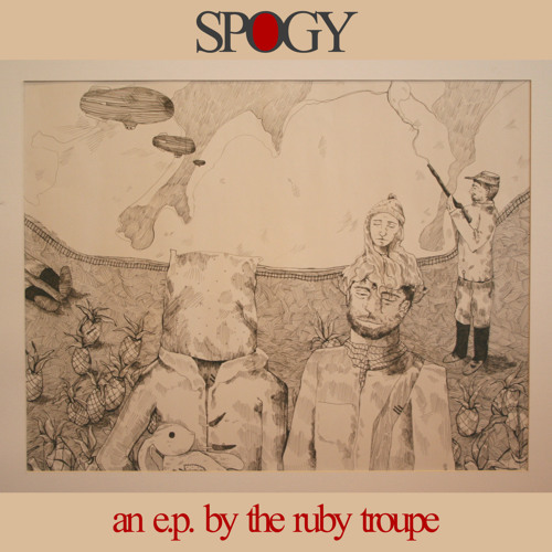 The Ruby Troupe - Buffalo Skull