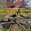 ATV and Side by Side Only Weekend Jan. 19th and 20th!