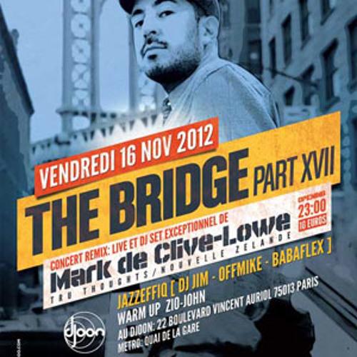 Dj Jim @ The Bridge, Djoon, Friday November 16th, 2012