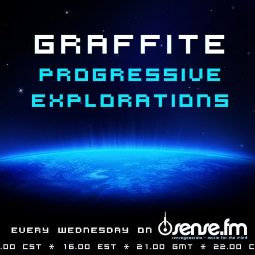 Graffite - Progressive Explorations 017 (09-01-2013) on Sense FM