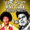 Michael Jackson vs Elvis Presley Portada del disco