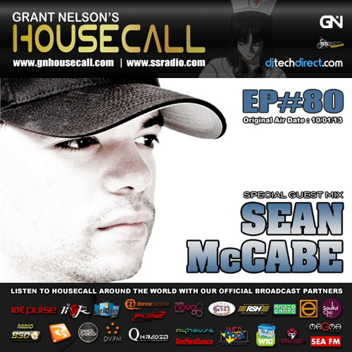Housecall EP#80 (10/01/13) incl. a guest mix from Sean McCabe