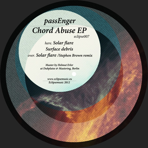 passEnger - Solar Flare (Stephen Brown Remix) - [Eclipsemusic - 2013]