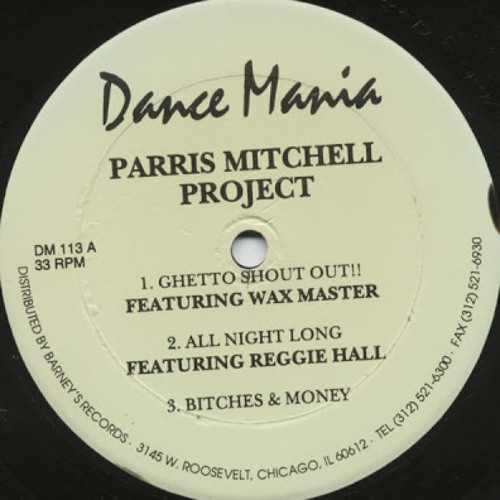 PARRIS MITCHELL PROJECT- ALL NIGHT LONG (EMOTION II EMOTION REWORK)