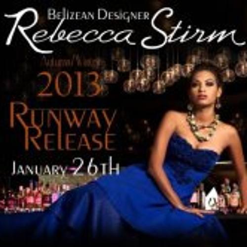 Rebecca Stirm Runway Fashion Show Ad