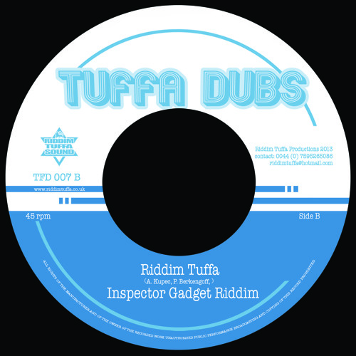 TFD007B Riddim Tuffa - Inspector Gadget Riddim
