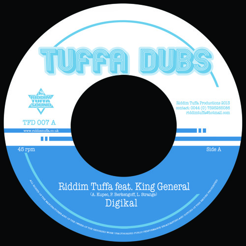 "TFD007 Riddim Tuffa ""Digikal"" ft. King General [Promo mix]"