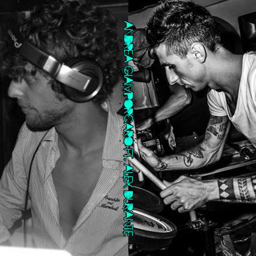 Andrea Giamporcaro Ft. Alex Durante drums live 01-2013