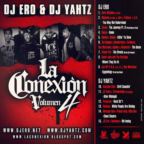 DJ Yahtz & DJ Ero- La Conexion Vol.4