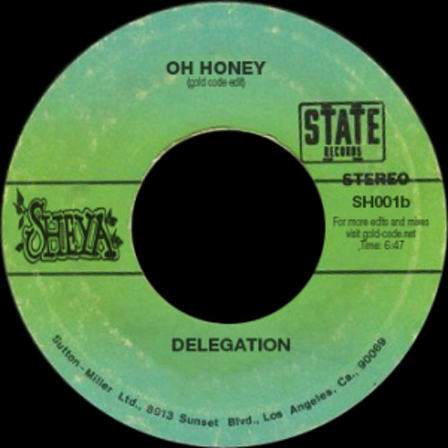 Delegation - Oh Honey (Mastercue Remix)