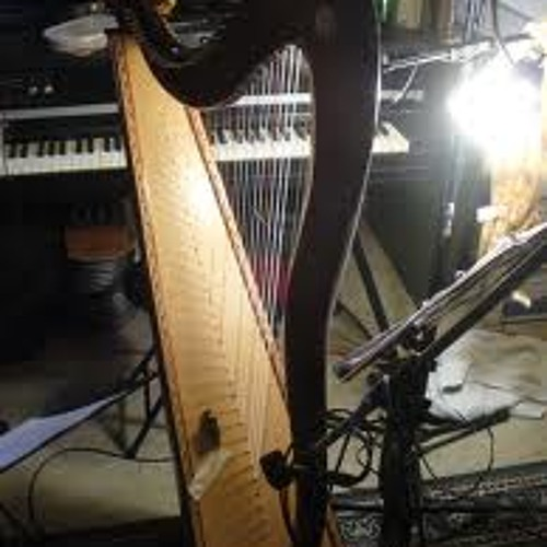 Beautiful harp piano