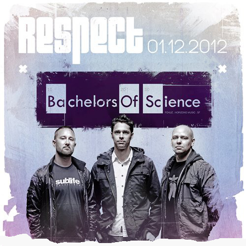 Bachelors of Science + MC Kemst - Live @ Club Respect (Los Angeles) 01.12.2012 [FREE DOWNLOAD]