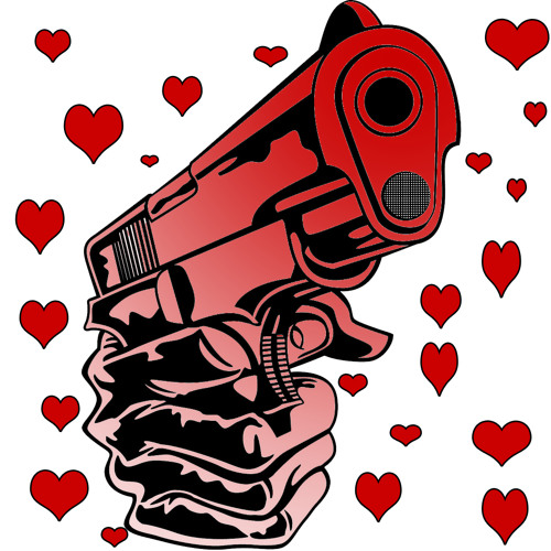 Gangstas med kärlek för vapen