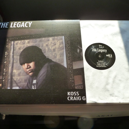 """Koss & Craig G - """"The Legacy"""" EP 12-Inch (Snippet)"""