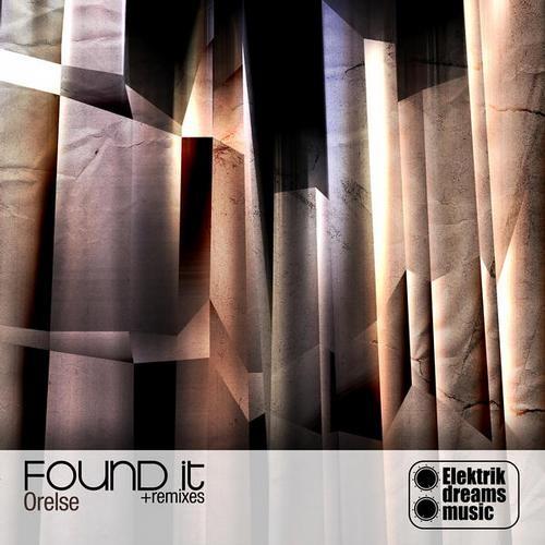 Orelse - Found It - (George Moog remix) Out now on Beatport www.elektrikdreamsmusic.com