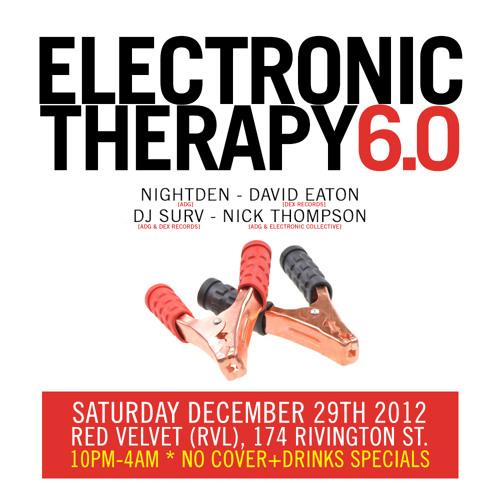DJ Surv Live @ Electronic Therapy 6.0 - RVL, NYC Dec 2012