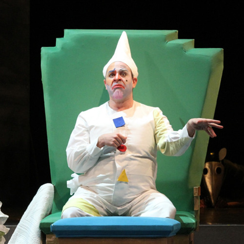 Seattle Opera LA CENERENTOLA: Patrick Carfizzi as Don Magnifico