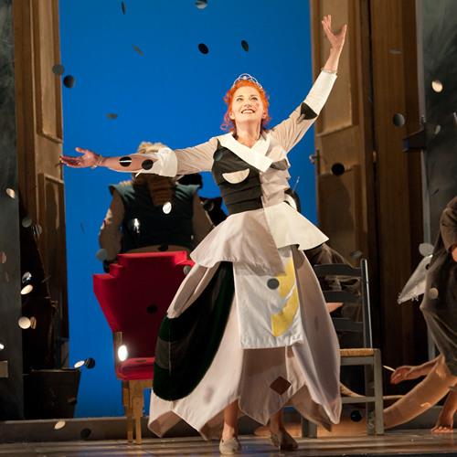 Seattle Opera LA CENERENTOLA: Daniela Pini as Cenerentola