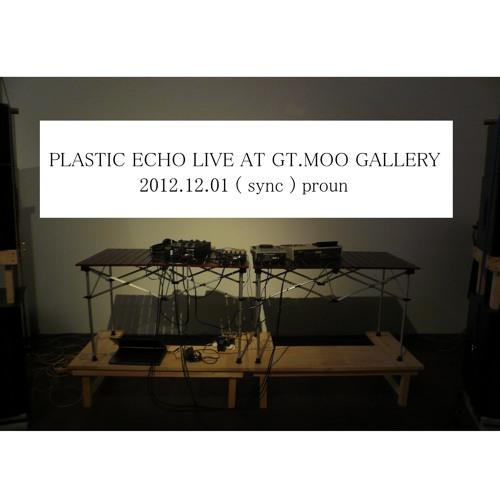 PLASTIC ECHO LIVE 2012.12.01 (sync) proun