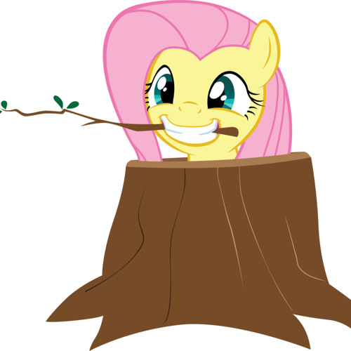Fluttershy and Treebeard have a Sleepover